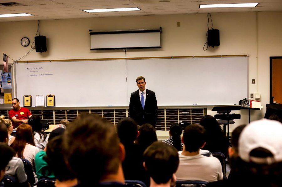Congressman Lamb meets with NASH Students