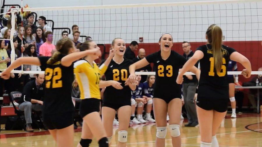 Girls' Volleyball 2018 Hype
