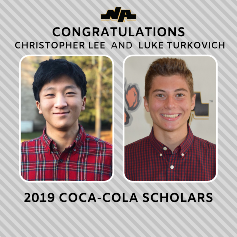 Coca Cola Scholarship Winners