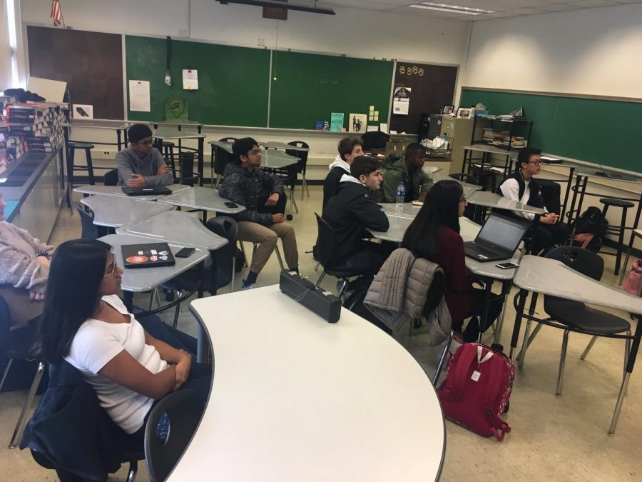 The NA TED Talk Club meets earlier this spring to plan an ambitious program for next year.