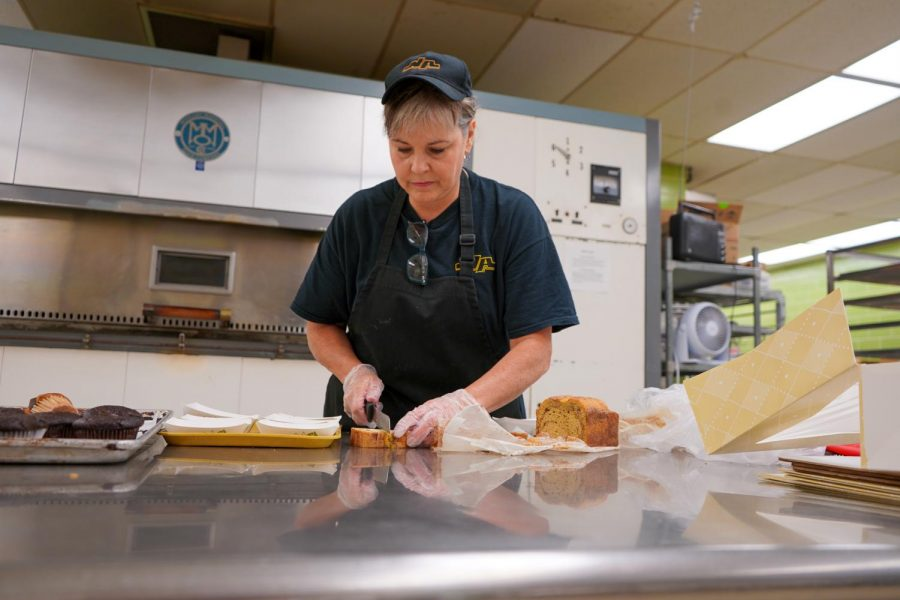 It's probably the case that most students do not fully realize the detailed preparation that goes into a typical day of food services at NASH.