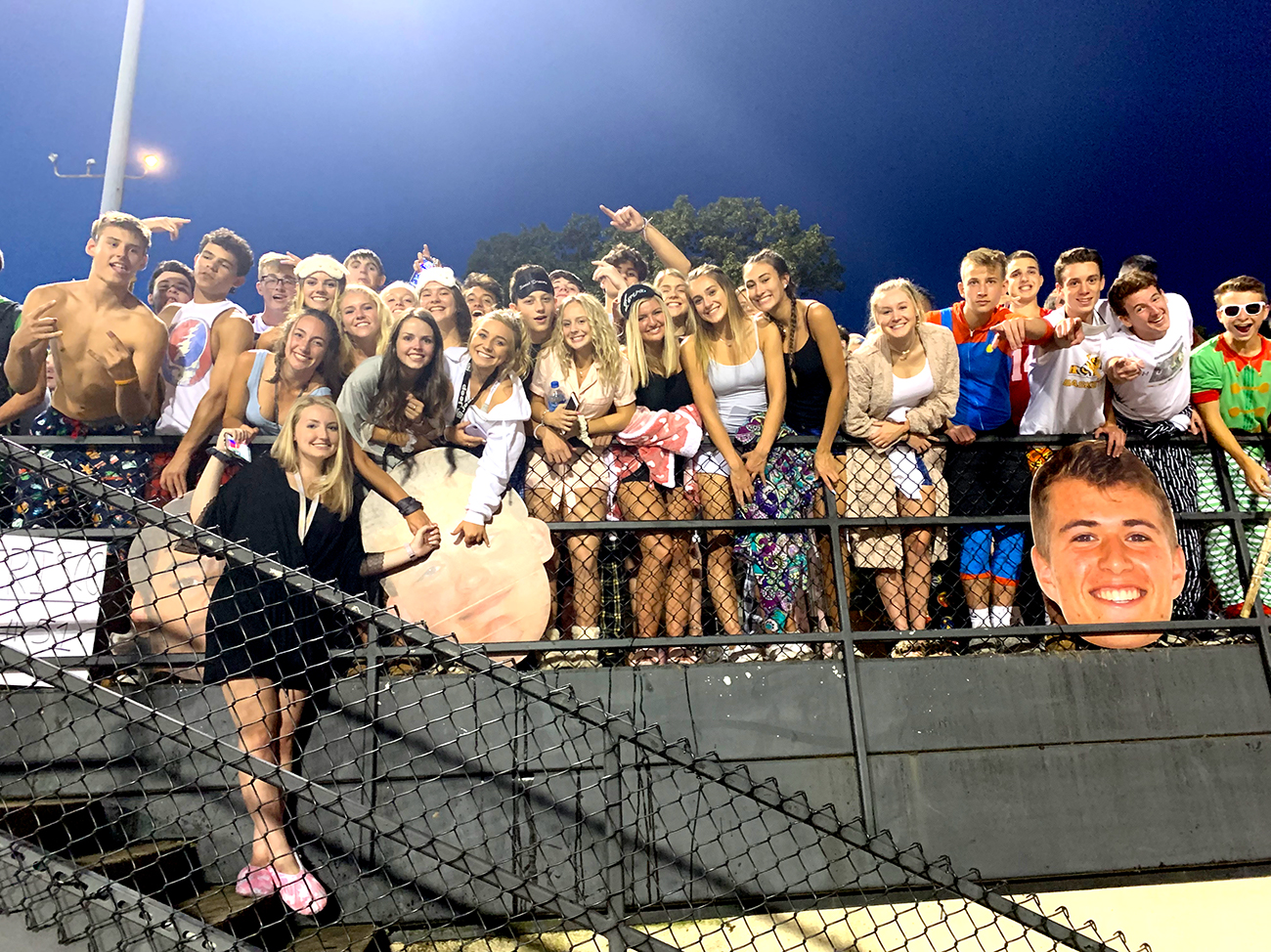 For students who are new to the district, Friday night entails equal parts culture shock and exhilaration.