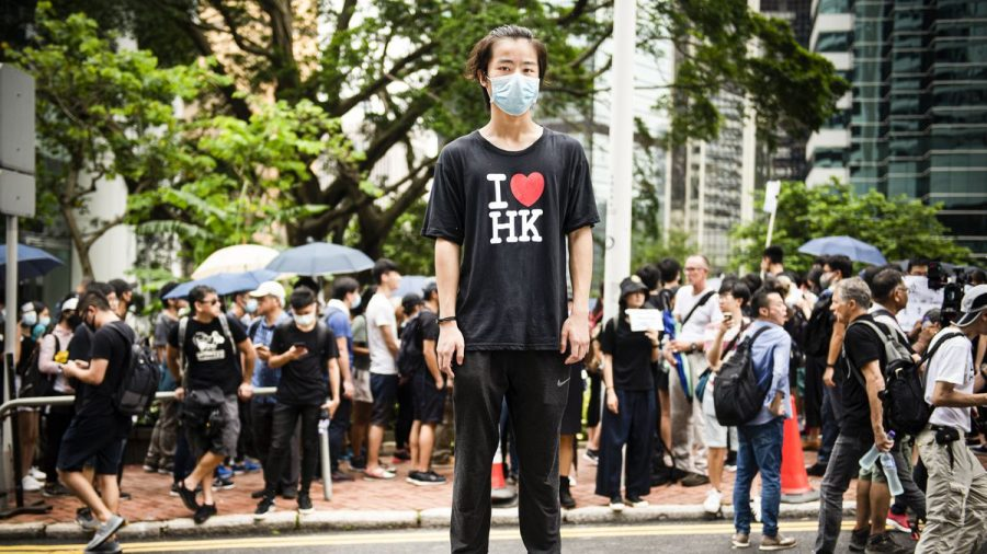 During the summer of 2019, protesters gathered to show their support for Hong Kong.  Protests have continued into the fall.