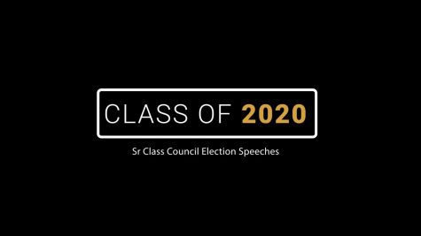 Class of 2020 Election Speeches