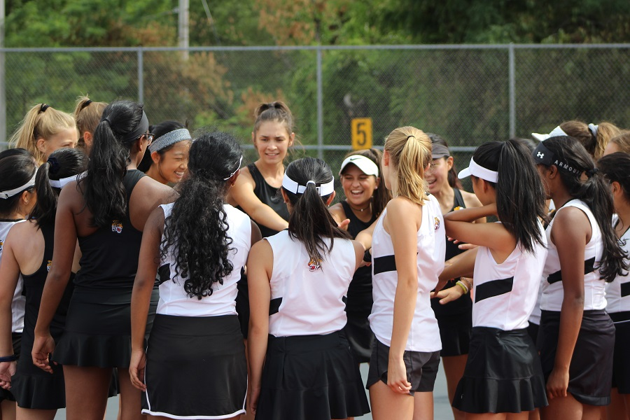 Following an impressive regular season, the Girls' Tennis Team enters the first round of the WPIAL tournament this afternoon.