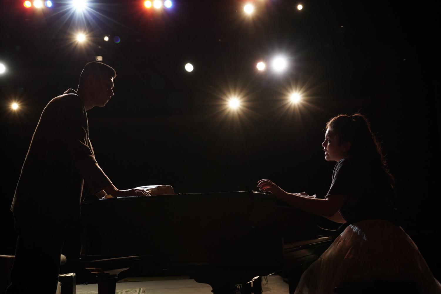 This year's fall play, The Musical Comedy Murders of 1940, opens this Thursday.