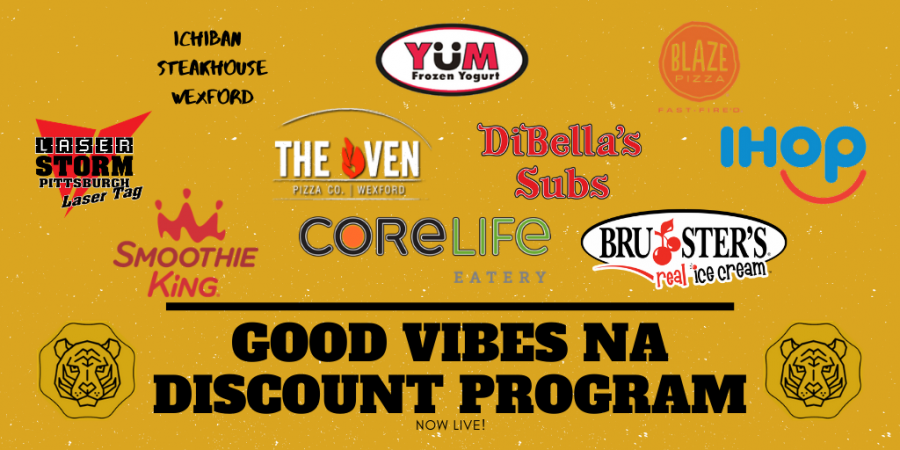 The+NA+Good+Vibes+Discount+Program+features+a+variety+of+businesses+that+have+opted+to+participate.+