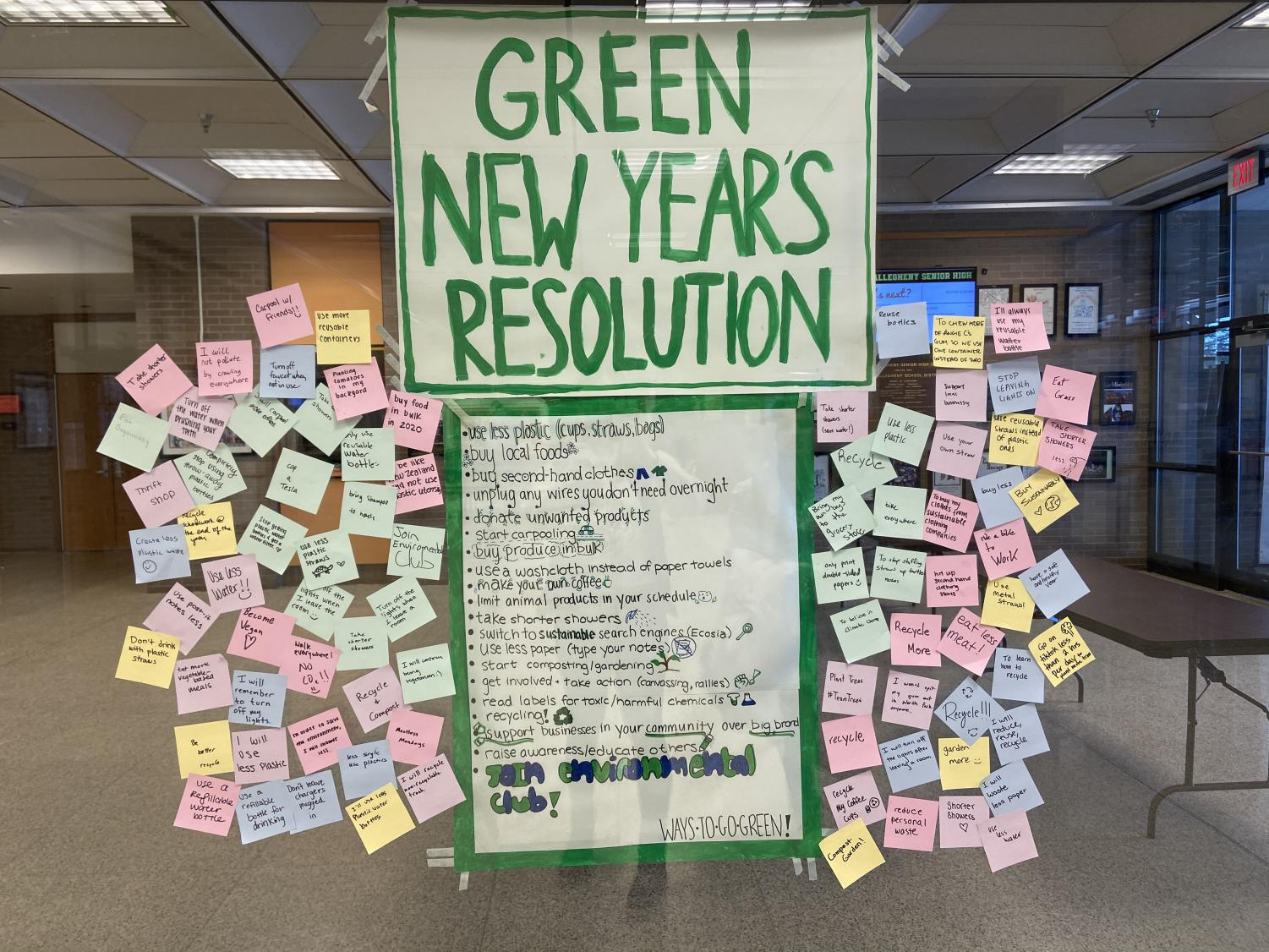 Going Green For the New Year