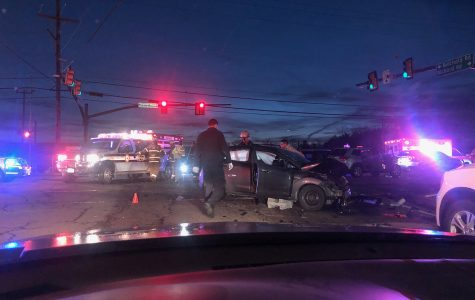 Wednesday morning's six-car pile-up delays student commutes