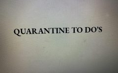 Quarantine To Do's