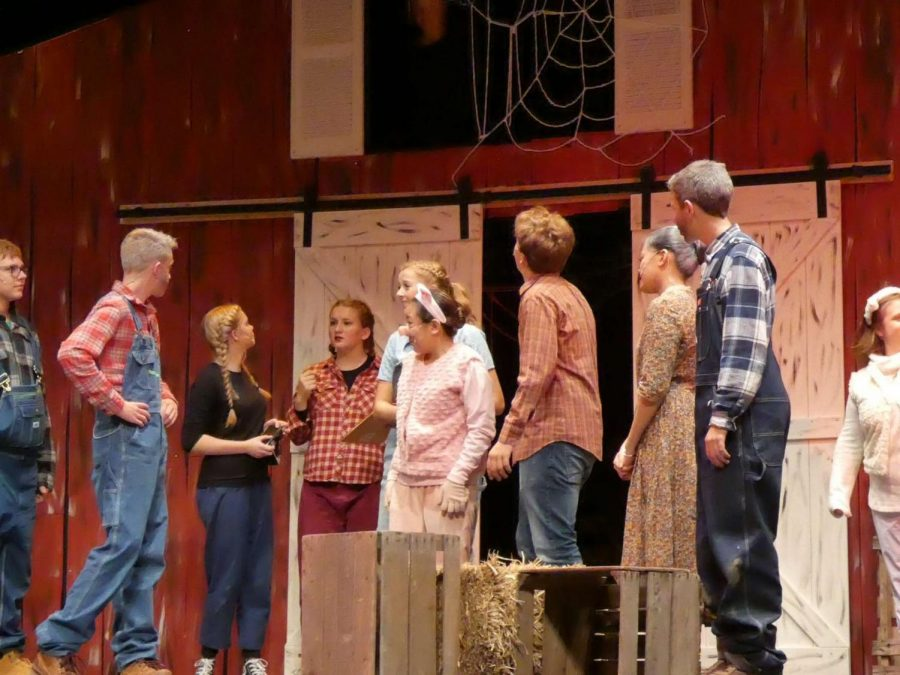 Set and costume design were two of the award categories that NASH seniors won.