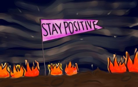 Continuously trying to remain positive in stressful times can cause more negativity and stress.