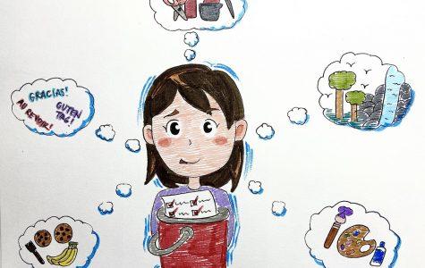 drawing by Rachel Tian