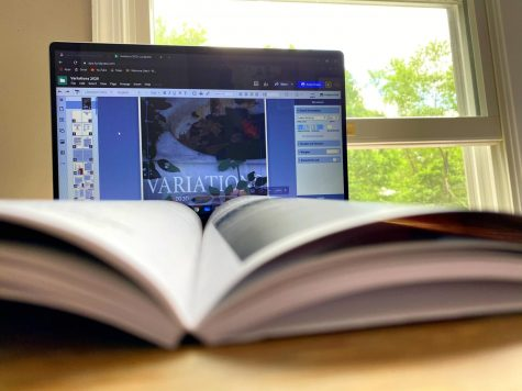 Students on the VARIATIONS staff have worked hard to bring the magazine together, even from the isolation of their own homes.