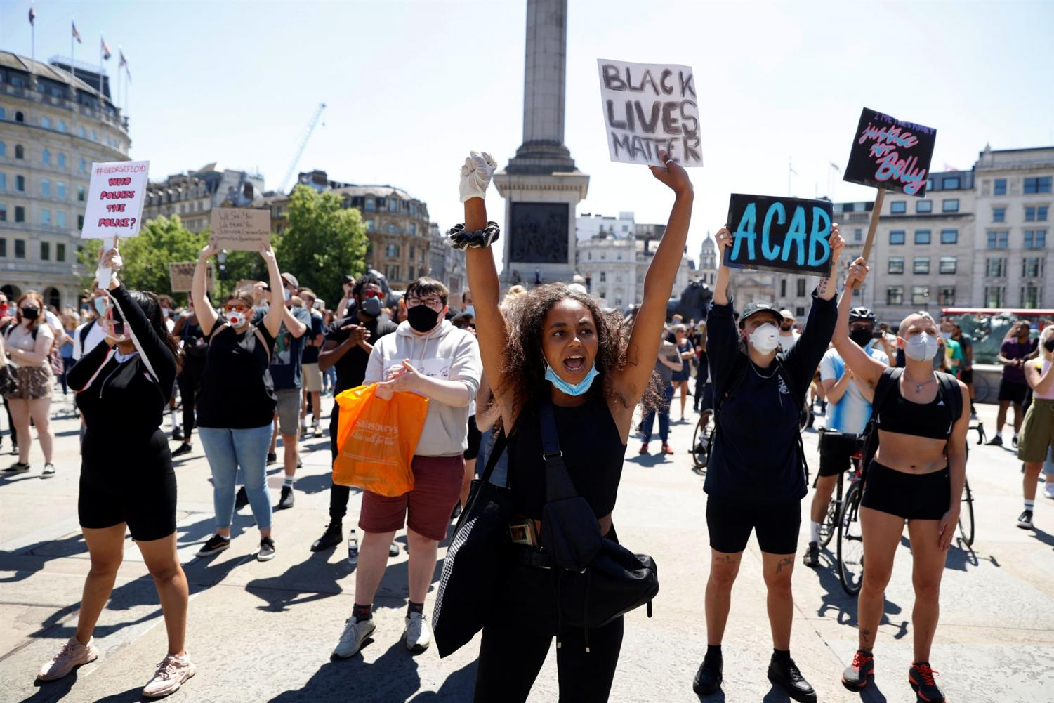 People of color are protesting because unjust systems have given them no other option.