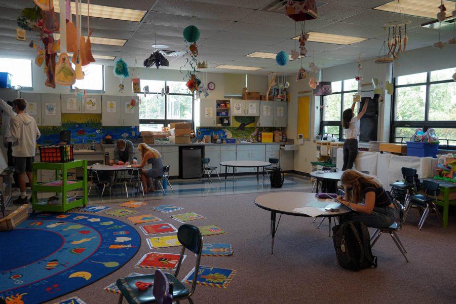 In the absences of preschoolers, NASH's Preschool Practicum is finding creative ways to educate.