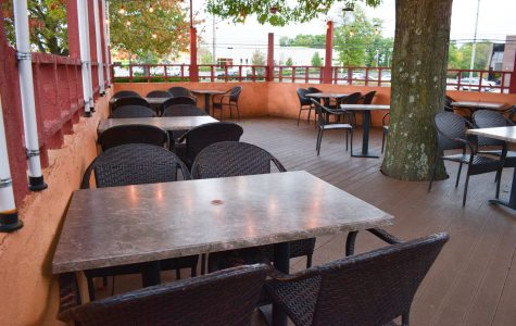 Outdoor seating offers restaurant-goers a sense of normalcy, while maintaining social distancing.