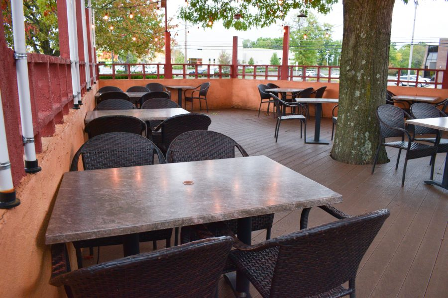 Outdoor+seating+offers+restaurant-goers+a+sense+of+normalcy%2C+while+maintaining+social+distancing.