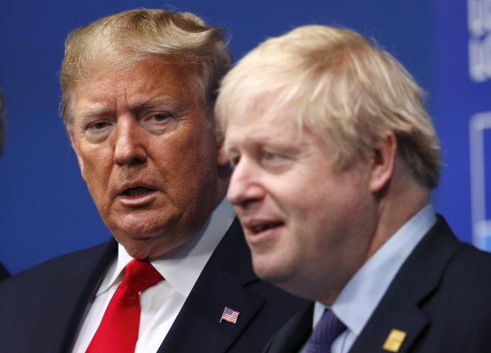 President Donald Trump & U.K. Prime Minister, Boris Johnson, have very different approaches to the virus outbreak.