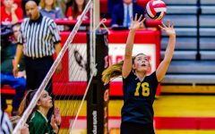 Paige Morningstar has risen to the top of two varsity sports, but volleyball is the focus of her future.