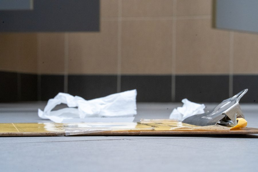 Given how many germs and bacteria lie in school bathrooms, the now-abandoned clipboard pass may have been the most unsanitary object in all of Wexford.