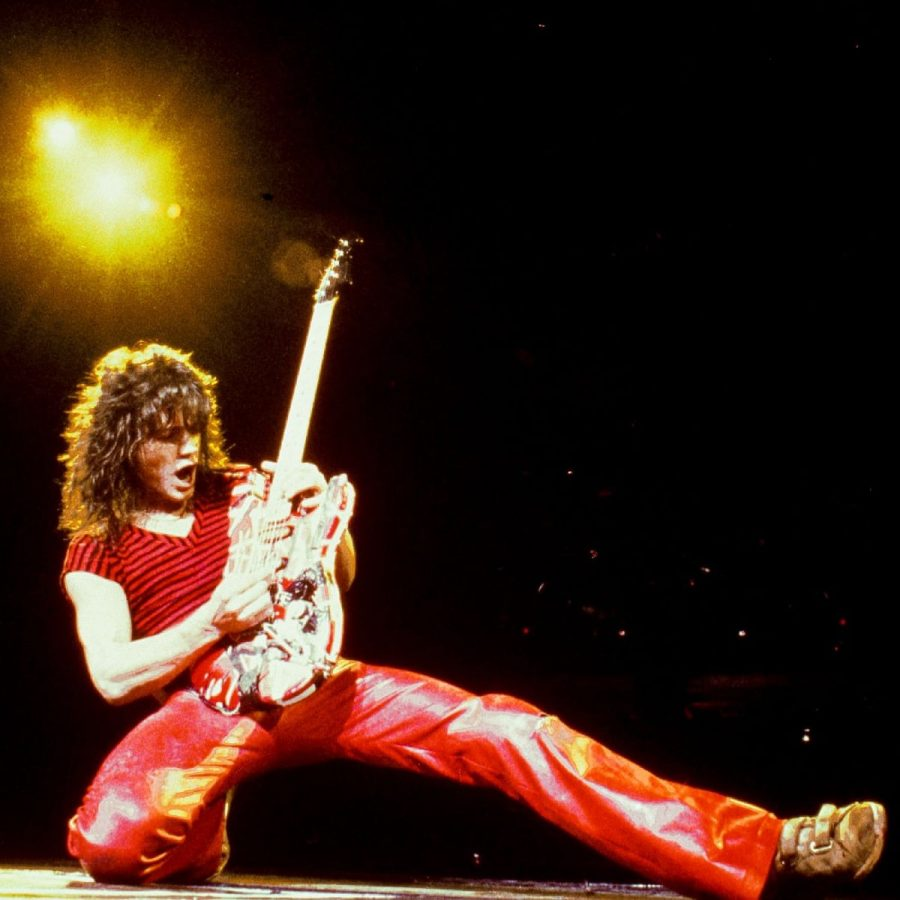 Eddie+Van+Halen+emerged+on+the+rock+scene+in+the+late+1970s+and+would+go+on+to+leave+it+utterly+transformed.
