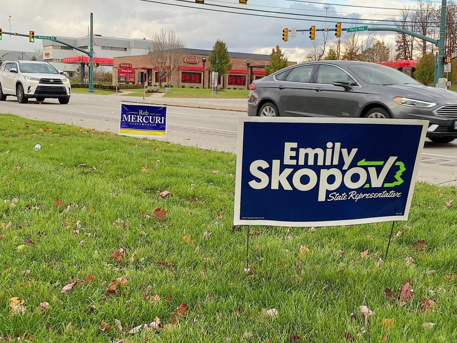 Emily Skopov (D) and Rob Mercuri (R) face off in the race to represent Pennsylvania's 28th district.