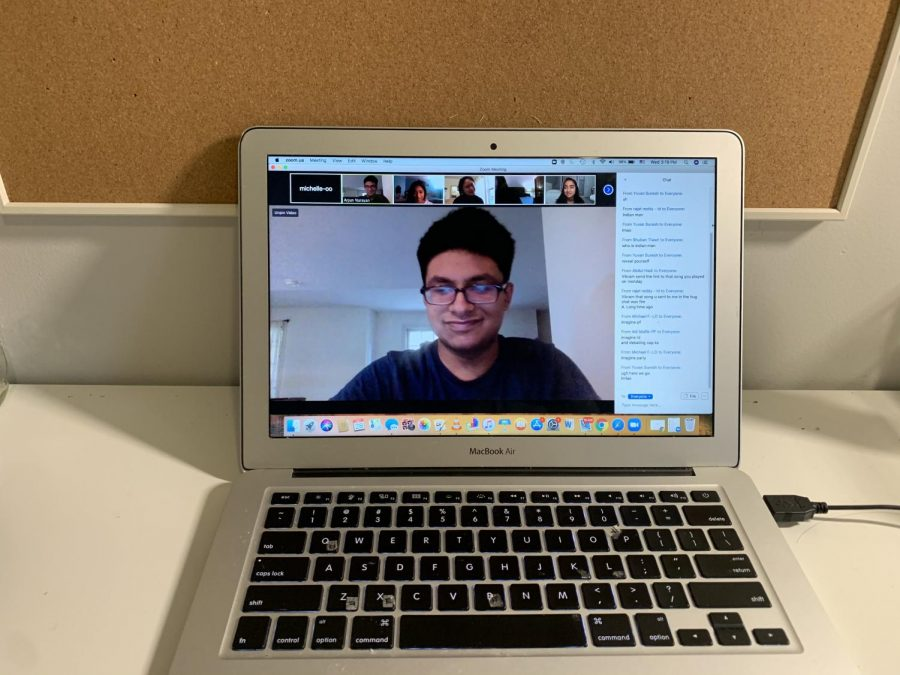 Once a hive of interaction at close proximity, speech and debate meetings now take place online over Zoom.