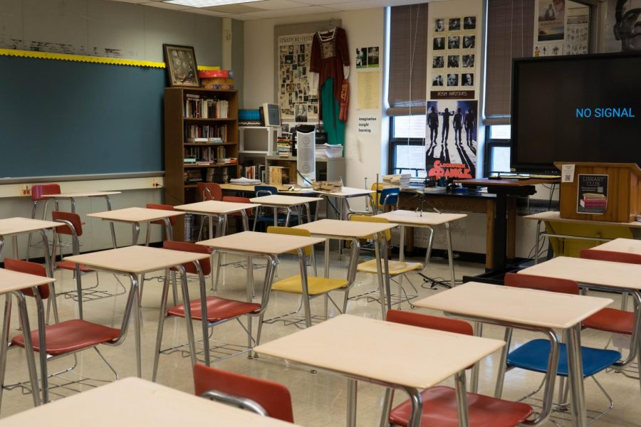 Empty classrooms are not an uncommon sight to see, but hopefully that will change soon.