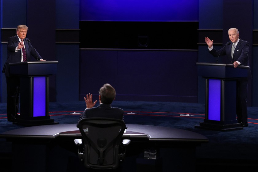 Tuesday night's presidential debate made it clear that there is only one responsible choice.