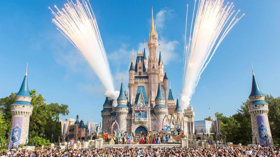 Usually seen packed with excited families, Walt Disney World is emptier than ever.