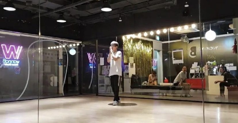 Though he began performing in front of his bathroom mirror, Hyunjun Chang now regularly performs in public.