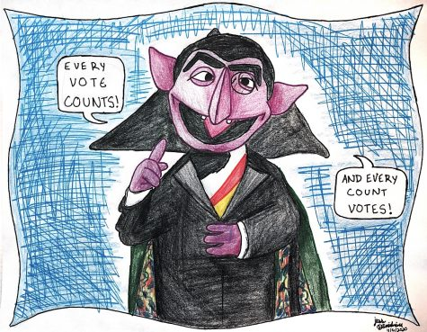 Political cartoon by