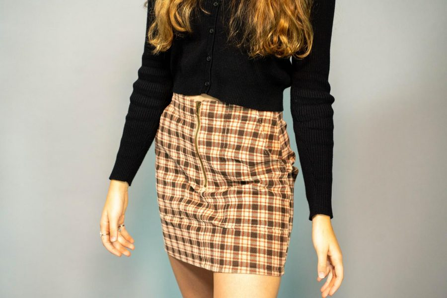 Plaid is back this season, as teen girls welcome its stylish flexibility.