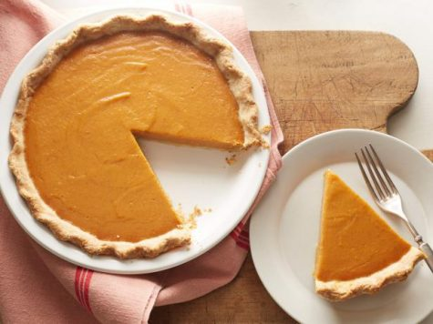 A delicious piece of vegan pumpkin pie is the perfect way to finish a filling, tasty meal.