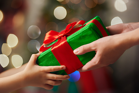 Gift-giving can be hard, especially when many stores are closed.
