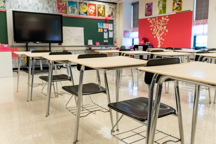 Empty or half-filled classrooms present a challenge for teachers to engage students from afar.