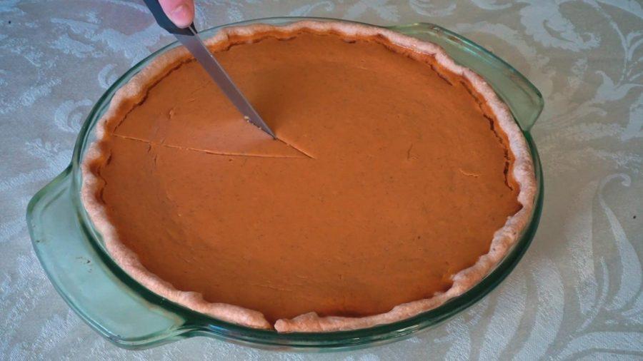 pumpkin pie still