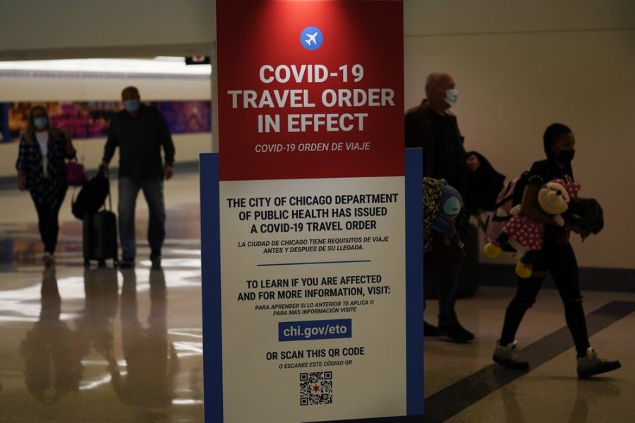 Many Americans ignored COVID-19 travel restrictions to see their families on Thanksgiving.