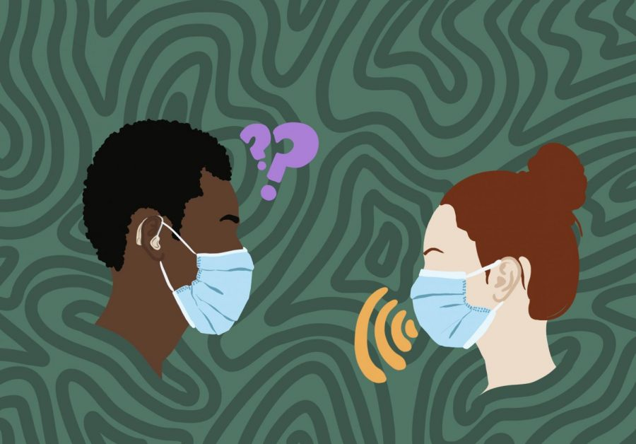 The use of masks has made communication even more difficult for the hearing impaired.