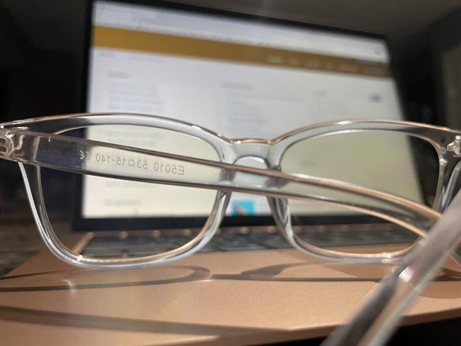 Staring at screens all day can be harmful to the eyes. Blue light glasses could be the solution.