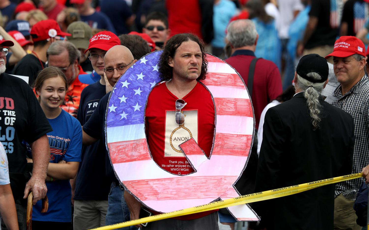 How extreme devotion to Trump and QAnon poses a unique threat