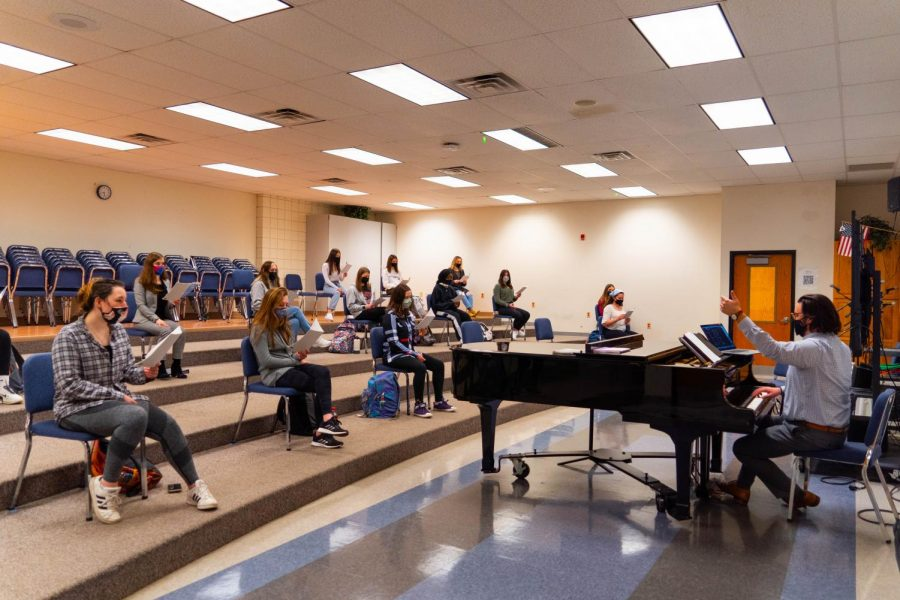 As NASH students transition to full time in-person instruction, chorus students are also regaining a bit of normalcy.