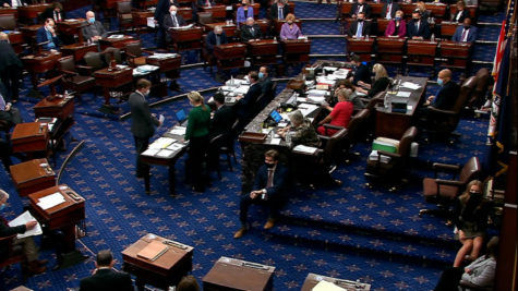 The Senate passed the COVID relief a week before President Biden officially signed it.