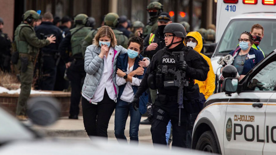 The shooting in a grocery store located in Boulder, Colorado on Monday left local shoppers terrified after witnessing a shooting.