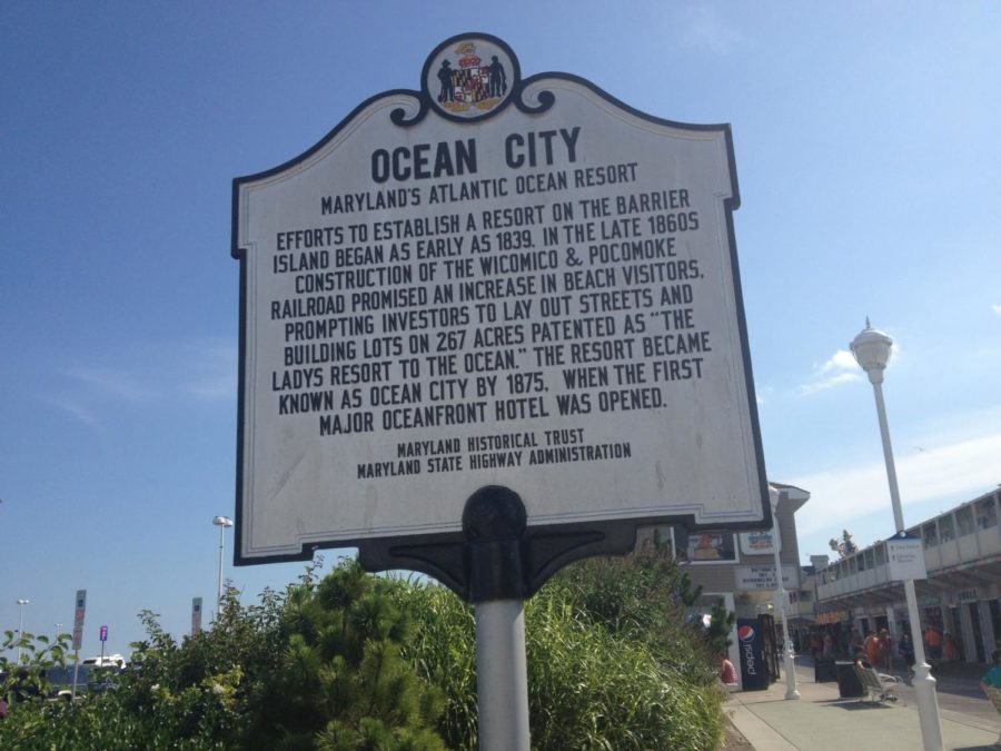 Ocean City has become a popular vacation spot for North Allegheny students.