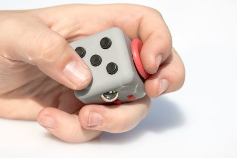 Hyperactivity caused by ADHD can be treated by a variety of fidget toys.