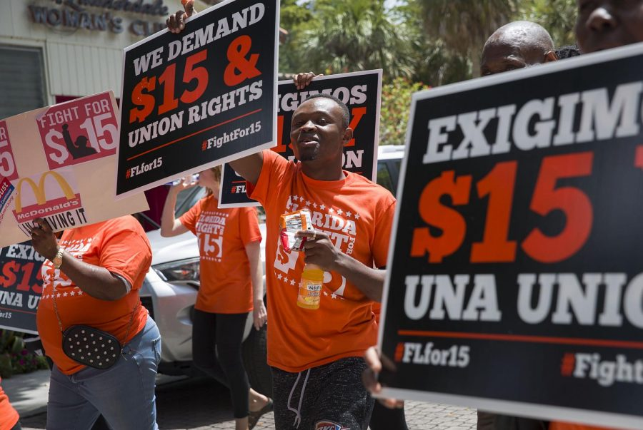 The current $7.25 minimum wage in the U.S. has remain unchanged since it was set in 2009.