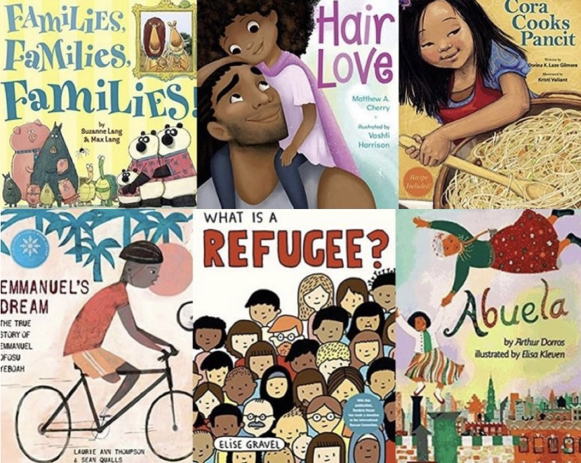 People are encouraged to donate children's books that represent a wide range of cultures and backgrounds.