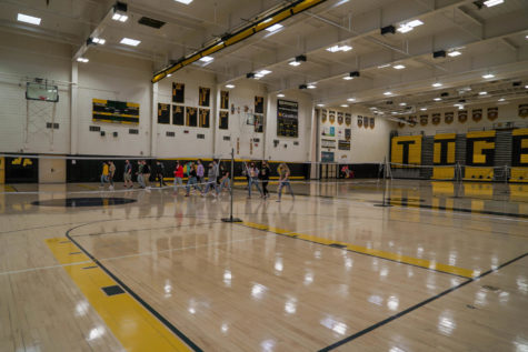 As the fourth quarter is well underway, students are used to the new gym class orientation.